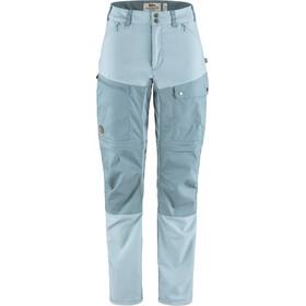 Fjällräven Midsummer Zip Off Trousers Women mineral blue/clay blue